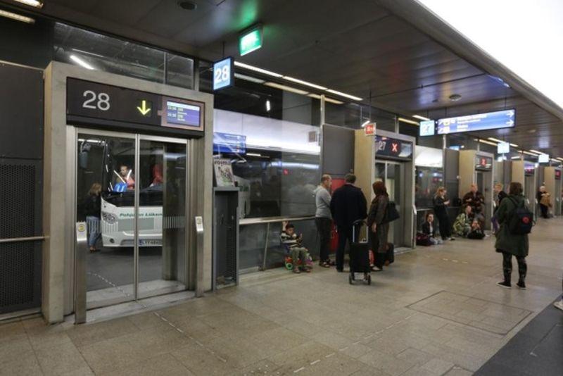 Helsinki Kamppi Bus Station