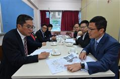 SDEV visits Kwai Tsing District.