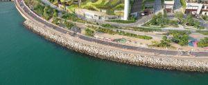 图为荃湾青荃桥至湾景花园单车径的部分路段,预计在下年年初前完成和开放给公众使用。.