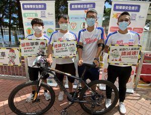 土拓署安排单车大使,向市民推广踏单车安全及相关礼仪,并会定时沿单车径巡逻。.