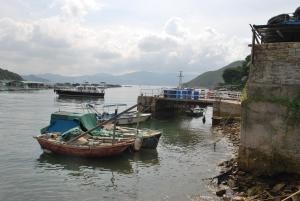 滘西村码头只有一个简陋的停泊位,退潮时水深只有约一米,令很多船只难以停泊,对村民、渔民、访客和游人造成不便,故有需要进行改善工程。.